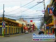 Avenida San Isidro centro La Ceiba, vista a la playa