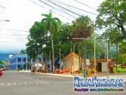 Avenida San Isidro centro La Ceiba, Parque central