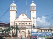Avenida San Isidro centro La Ceiba, Catedral San Isidro