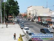 Avenida San Isidro centro La Ceiba, desde Municipalidad a la playa