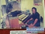 Locutor Luis Alonzo Zuniga, Chorompo Zuniga, de Radio El Patio, La Ceiba
