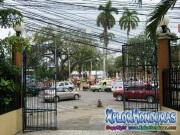 Plaza central de La Ceiba desde catedral San Isidro
