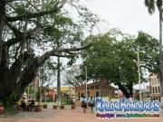 Parque central en el 136 aniversario del municipio de La Ceiba, 1877-2013
