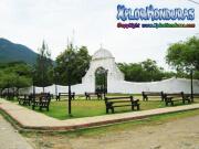 Parque frente Cementerio viejo de Trujillo
