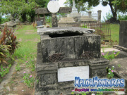 Tumba de Antonia de Melhado Cementerio viejo de Trujillo