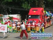 chicas de coca cola - Desfile de Carrozas 2 La Ceiba 2014