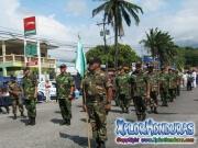 Veteranos de Guerra Comando #8 - Desfile de Carrozas 2 La Ceiba 2014