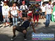 Jovenes Contra la Violencia - JCV - Desfile de Carrozas 2 La Ceiba 2014