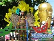 Chicas de Fuerza Aerea - Desfile de Carrozas 2 La Ceiba 2014