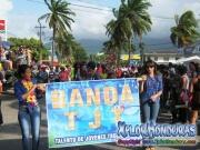 Banda TJT - Desfile de Carrozas 2 La Ceiba 2014
