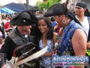 Piratas de Islas Cayman - Desfile de Carrozas 2 La Ceiba 2014