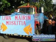 Liwa Mairin Moskitia - Desfile de Carrozas 2 La Ceiba 2014