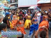Desfile de carrozas 2013, Carnaval de La Ceiba. Honduras