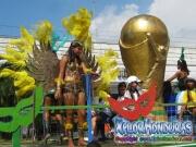 Chicas de Fuerza Aerea - Desfile de Carrozas 3 La Ceiba 2014