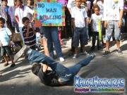 Jovenes Contra la Violencia - JCV - Desfile de Carrozas 3 La Ceiba 2014