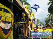 Salva Vida - Desfile de Carrozas 3 La Ceiba 2014