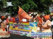 Nueva Armenia - Garifunas - Desfile de Carrozas 3 La Ceiba 2014