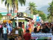 Trencito - Desfile de Carrozas 3 La Ceiba 2014