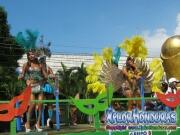 Chicas de Fuerza Aerea - Desfile de Carrozas 4 La Ceiba 2014