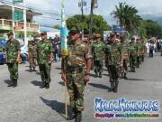 Veteranos Comando #8 - Desfile de Carrozas 4 La Ceiba 2014