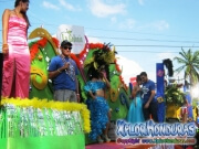 La Colonia - Desfile de Carrozas 4 La Ceiba 2014