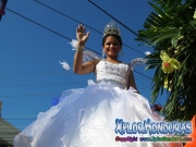La Reina - Desfile de Carrozas 4 La Ceiba 2014