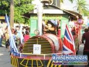 Trencito - Desfile de Carrozas 4 La Ceiba 2014