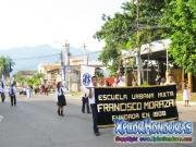 Escuela Francisco Morazan desfiles Patrios Honduras