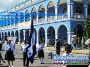 Desfiles Patrios Honduras Escuela Augusto C Coello La Ceiba
