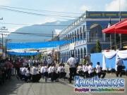 Desfiles Patrios Honduras saludo a La Bandera Nacional