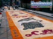 Alfombras para Semana Santa Tegucigalpa