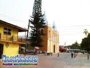 Centro de Trujillo con catedral San Juan Bautista