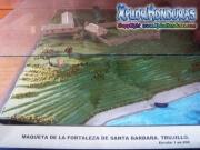 Maqueta Fortaleza Santa Barbara Trujillo