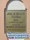 Placa Conmemorativa Cervantes Nicolas Arias del Hierro La Ceiba