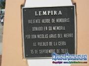 Placa Conmemorativa Lempira Nicolas Arias del Hierro La Ceiba