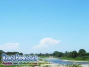 parque nacional pico bonito, rio cangrejal, la cuenca vista al mar