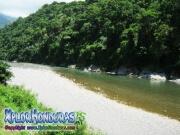 parque nacional pico bonito, rio cangrejal, vista hermosa
