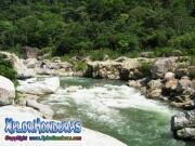 parque nacional pico bonito, rio cangrejal, paisaje del rio cangrejal