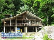 parque nacional pico bonito, rio cangrejal, hotel jungle river lodge