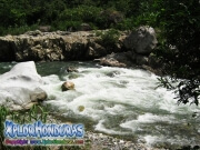 parque nacional pico bonito, rio cangrejal, paisaje bello