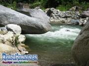 parque nacional pico bonito, rio cangrejal, aguas turbulentas