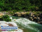 parque nacional pico bonito, rio cangrejal, aguas cristalinas y turbulentas