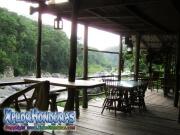 parque nacional pico bonito, rio cangrejal, vista desde jungle river lodge