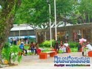plaza parque central centro la ceiba honduras