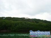 Roatan, Islas de la Bahia, Honduras, bella vista desde el yate