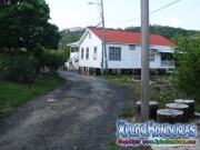 Roatan, Islas de la Bahia, Honduras, casa tipica