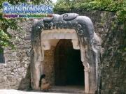 Entrada Museo Escultura Maya Copan Ruinas