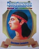 Lempira Heroe Nacional de Honduras
