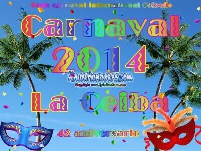 Logo Carnaval de La Ceiba 2014