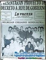 Primeras portadas de Diario La Prensa